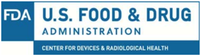 U.S. Food and Drug Administration, Center for Devices and Radiological Health Logo